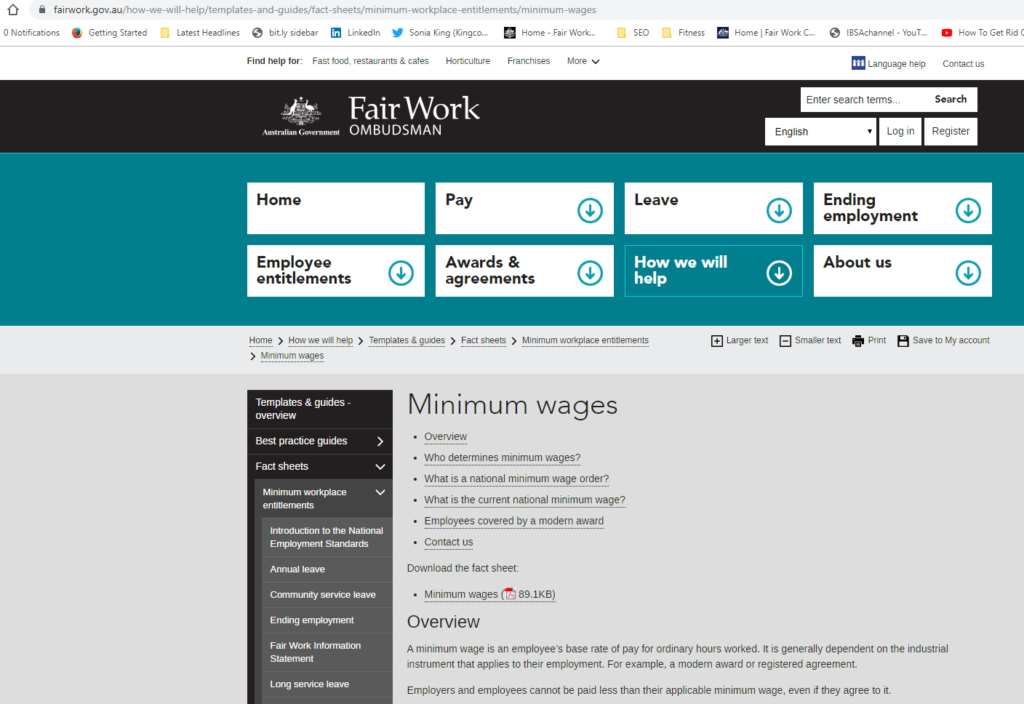 10 ways to comply with FWA Minimum Wages in Australia 2019